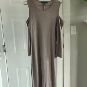 Dynamite Dress with Sleeve Cutouts